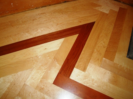 Inter county flooring eureka ca serving humboldt county Hardwood floor designs borders